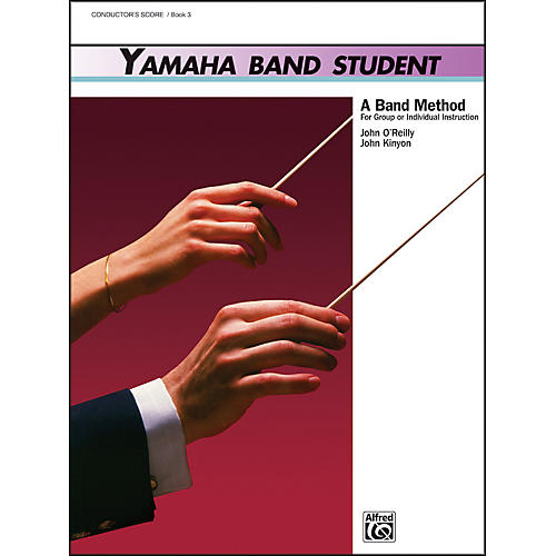 Alfred Yamaha Band Student Book 3 Conductor's Score thumbnail