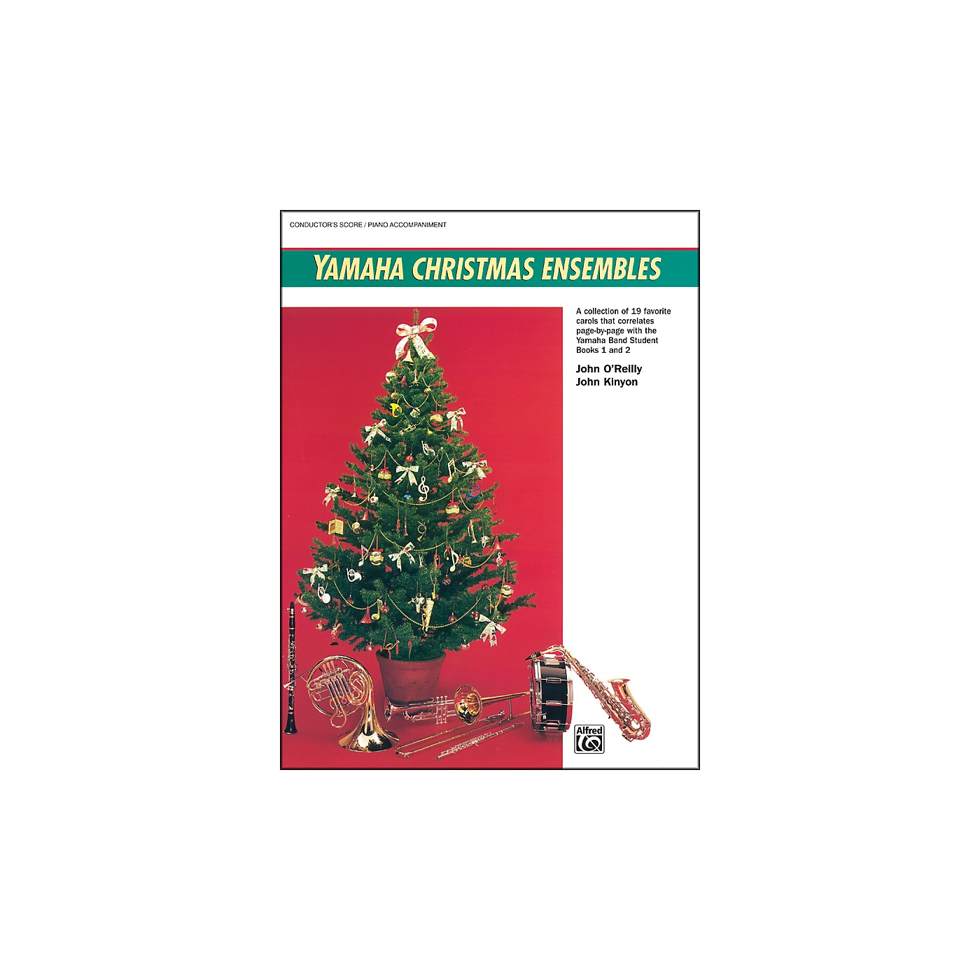Alfred Yamaha Christmas Ensembles Piano Acc./Conductor's Score thumbnail