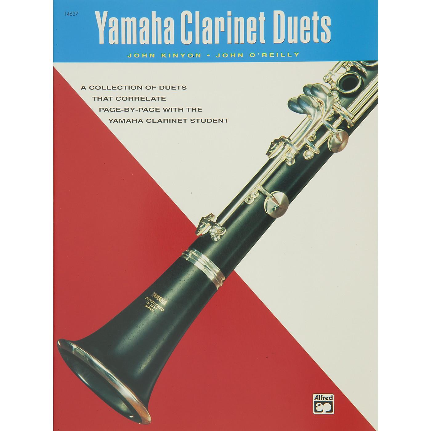 Alfred Yamaha Clarinet Duets Book thumbnail