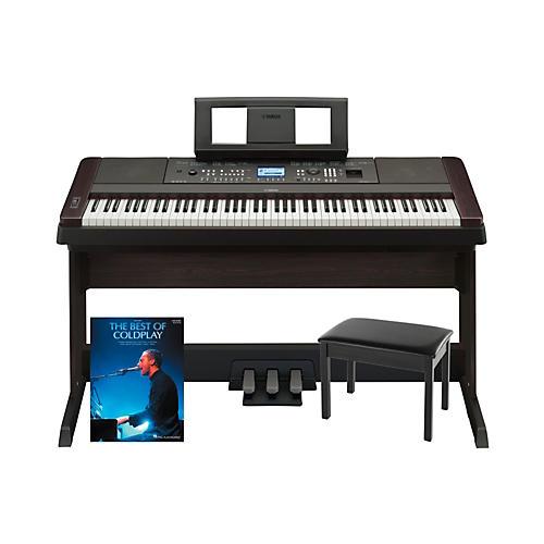 Yamaha Yamaha DGX-650 Platinum Bundle with Bench & Songbook thumbnail