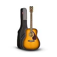 Yamaha Yamaha F335 Acoustic Guitar Regular Tobacco Brown Sunburst with Road Runner RR1AG Gig Bag