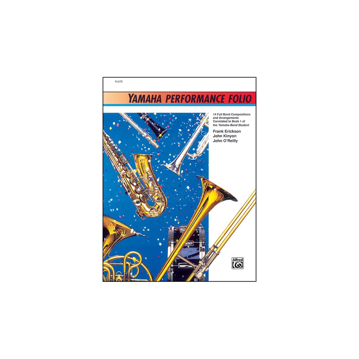 Alfred Yamaha Performance Folio F Horn thumbnail