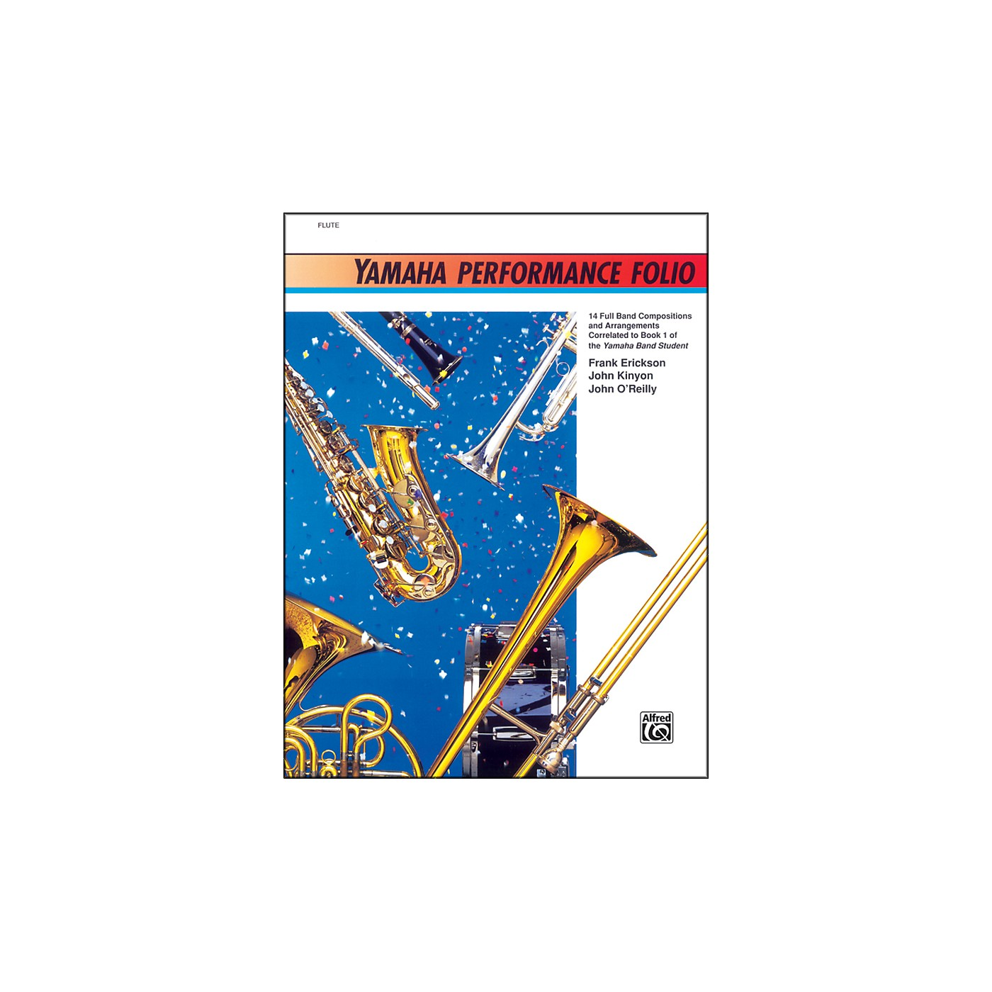 Alfred Yamaha Performance Folio Percussion thumbnail