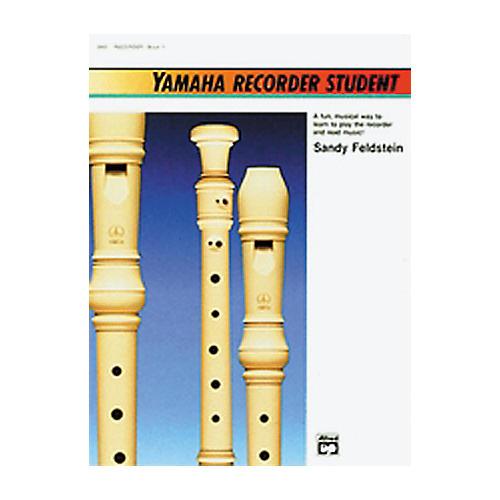 Alfred Yamaha Recorder Student Book thumbnail