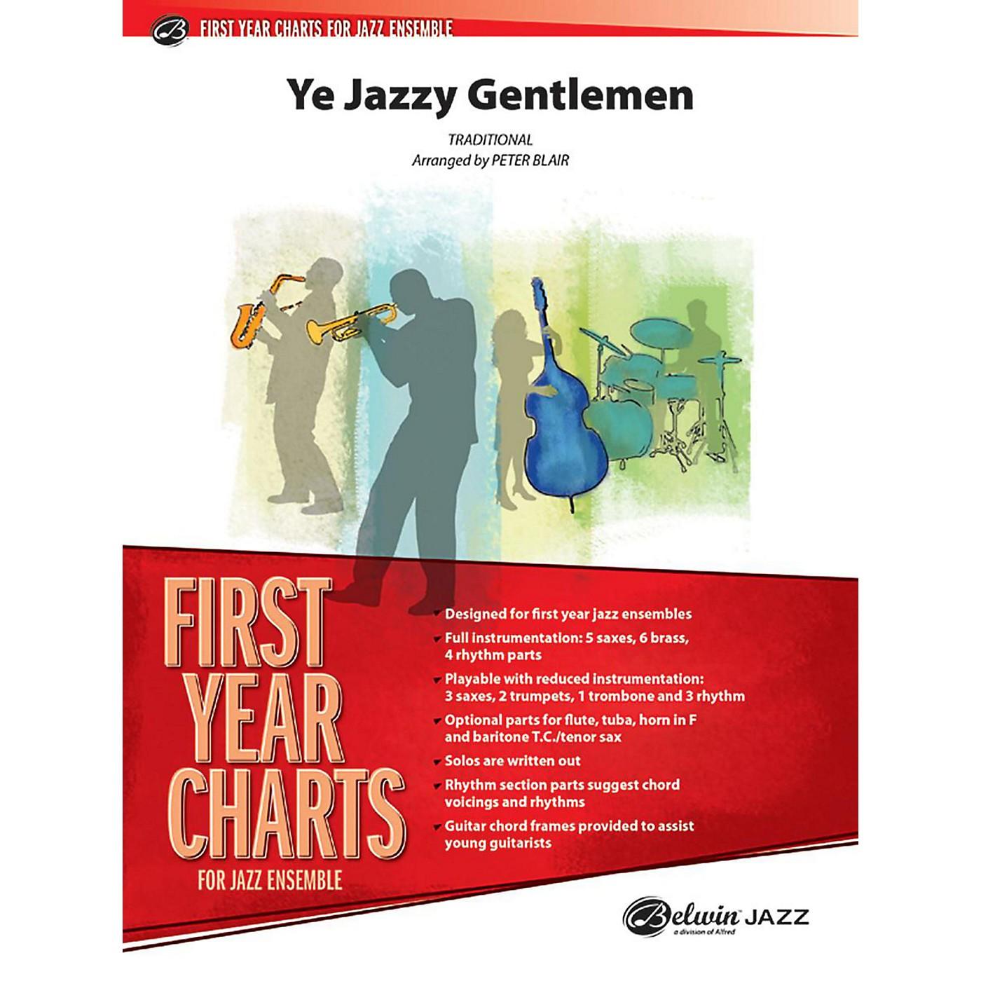 Alfred Ye Jazzy Gentlemen Jazz Band Grade 1 Set thumbnail