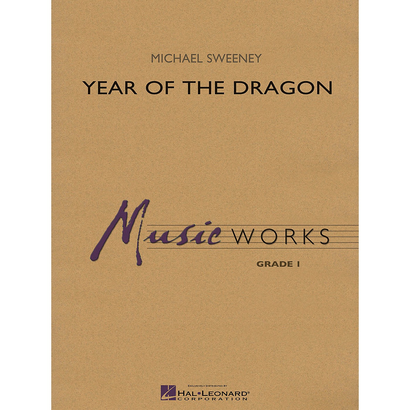 Hal Leonard Year of the Dragon Concert Band Level 1.5 Composed by Michael Sweeney thumbnail