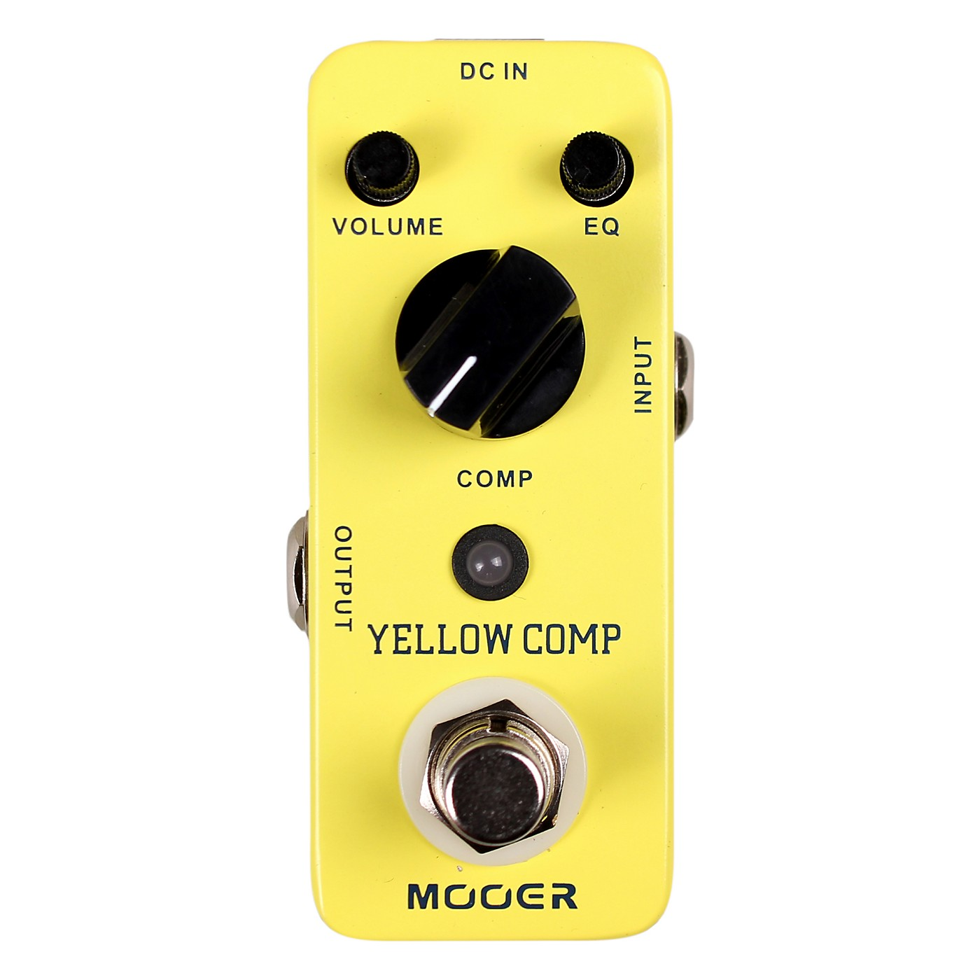 Mooer Yellow Comp Optical Compressor Guitar Effects Pedal thumbnail