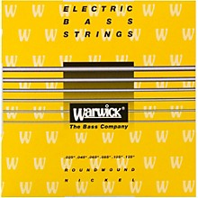 Warwick Yellow Label 6-String M Nickel Bass Strings