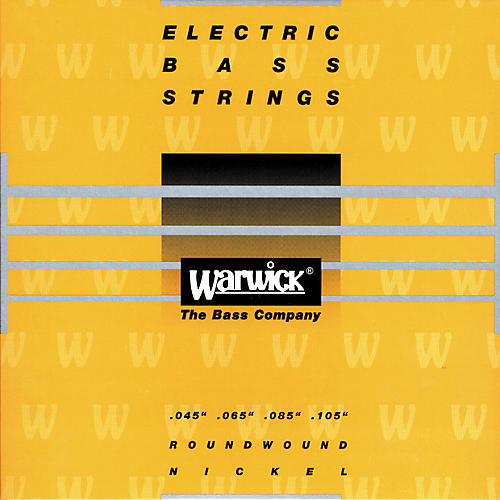 Warwick Yellow Label Nickel Medium 4-String Bass Strings-thumbnail
