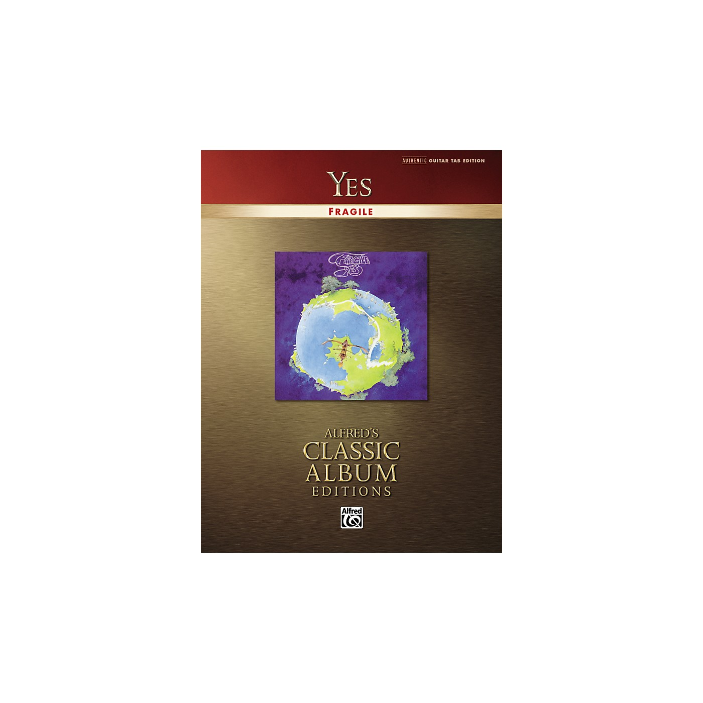 Alfred Yes Fragile Classic Album Edition Guitar Tab (Book) thumbnail