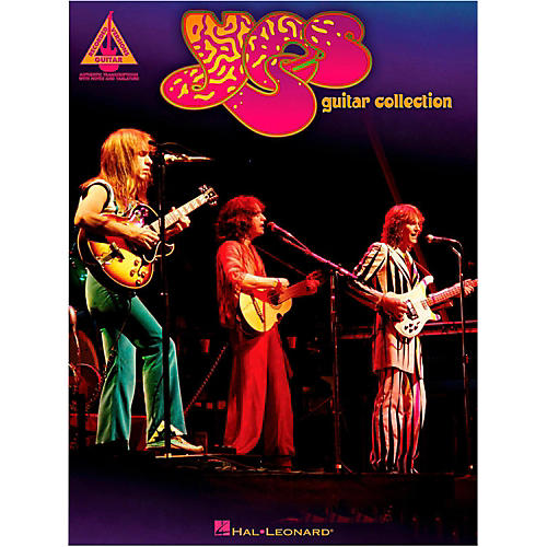 Hal Leonard Yes Guitar Collection Guitar Tab Songbook thumbnail