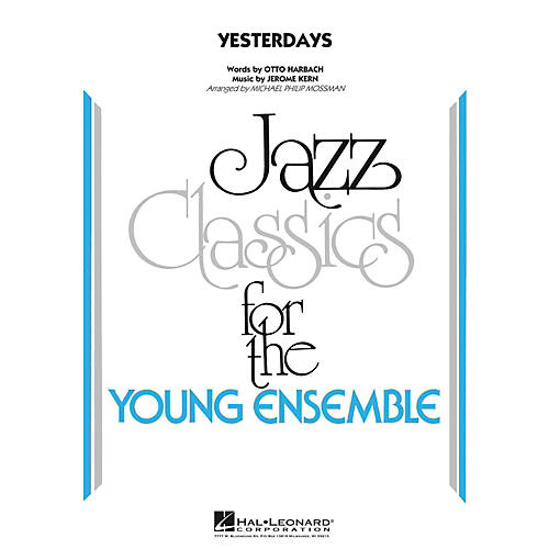 Hal Leonard Yesterdays  - Young Jazz Classics Level 3-thumbnail