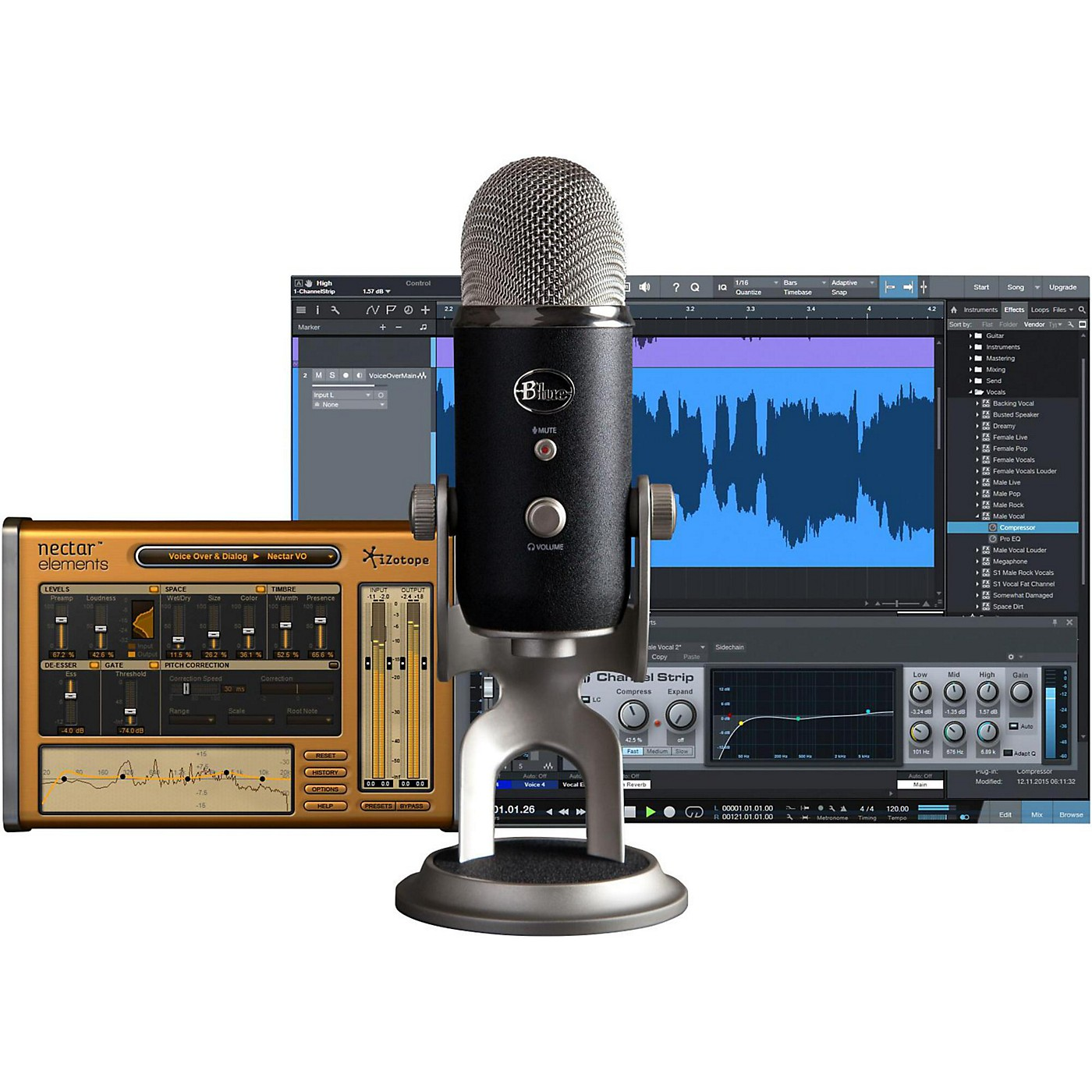 BLUE Yeti Pro Studio USB/iOS Microphone - with $100 in Software thumbnail