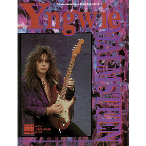 Alfred Yngwie Malmsteen Book with CD-thumbnail