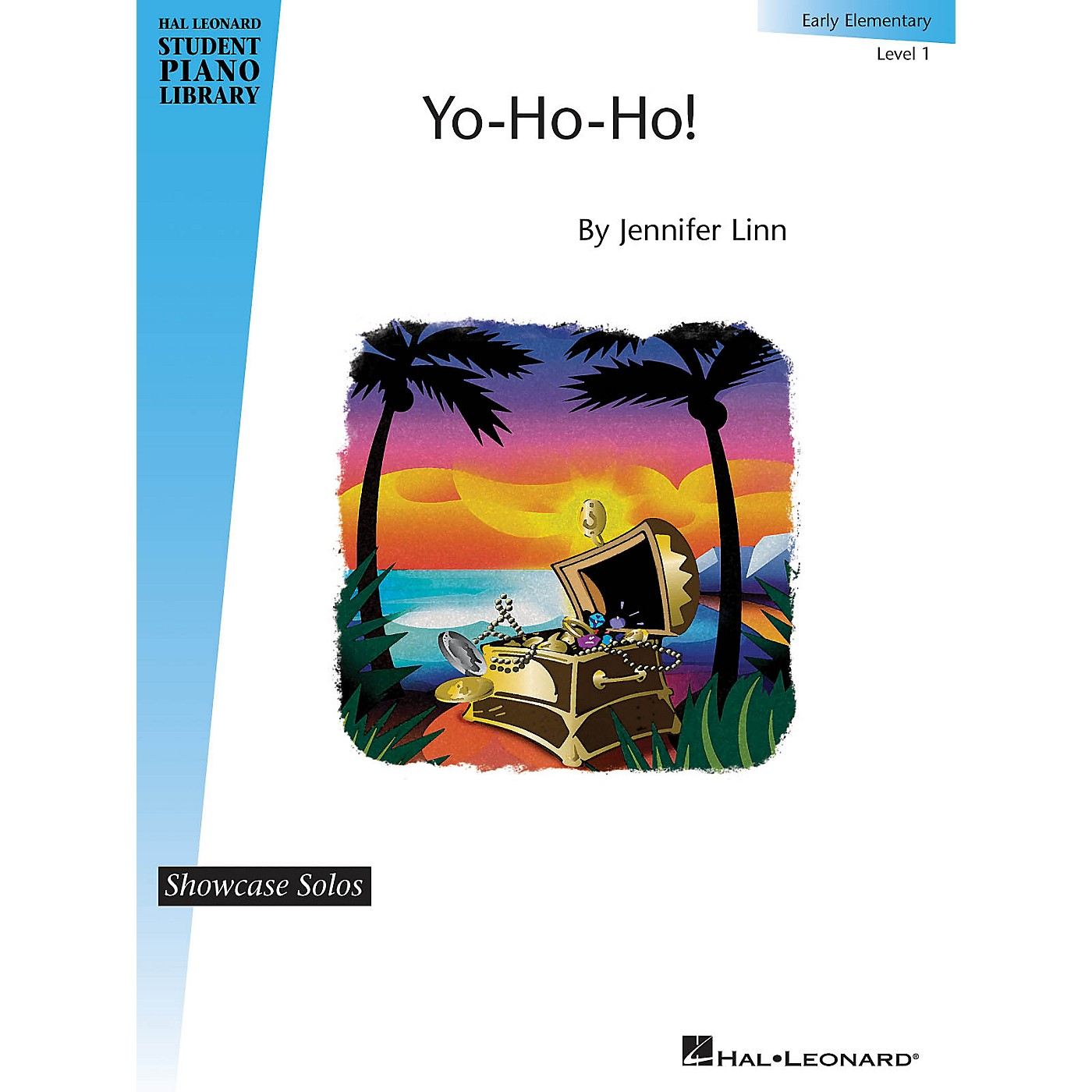 Hal Leonard Yo-Ho-Ho! (Showcase Solos Early Elem - Level 1) Piano Library Series by Jennifer Linn thumbnail