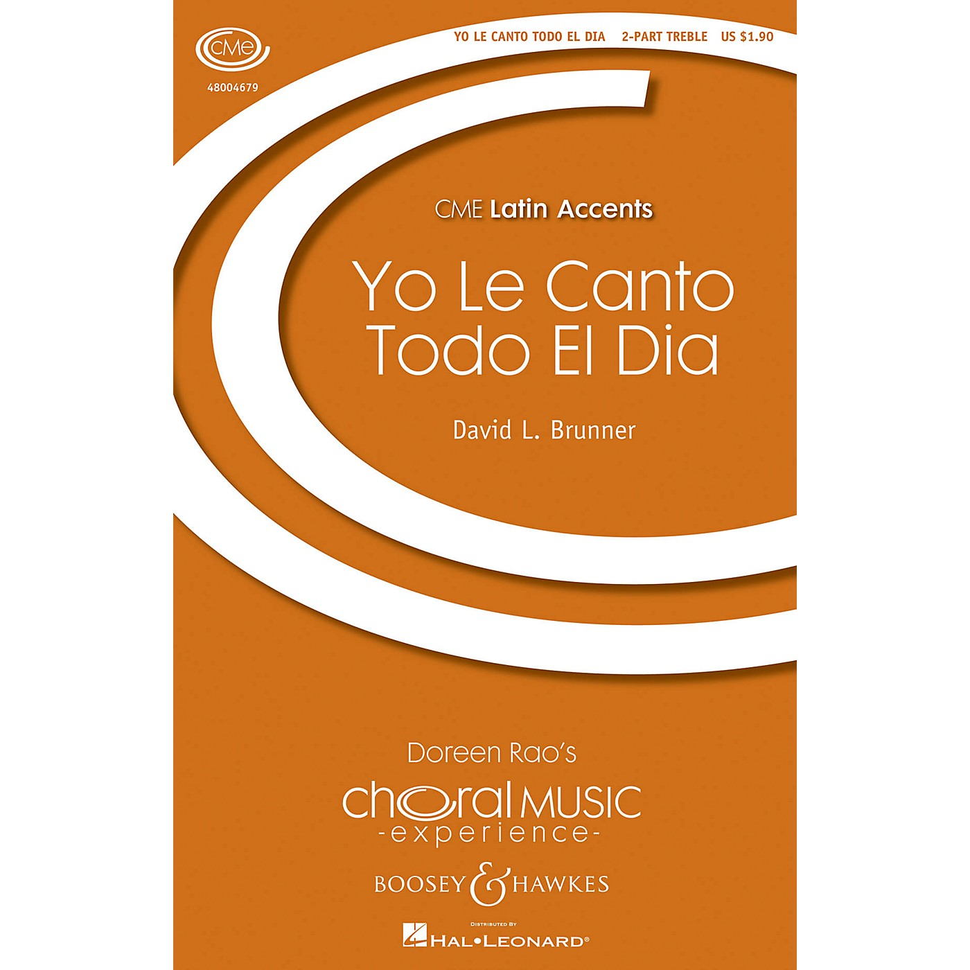 Boosey and Hawkes Yo le Canto Todo el Dia (CME Latin Accents) 2-Part composed by David Brunner thumbnail