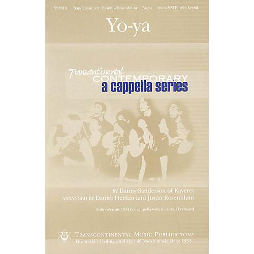 Transcontinental Music Yo-ya (Transcontinental Contemporary A Cappella Series) SATB a cappella composed by Danny Sanderson thumbnail