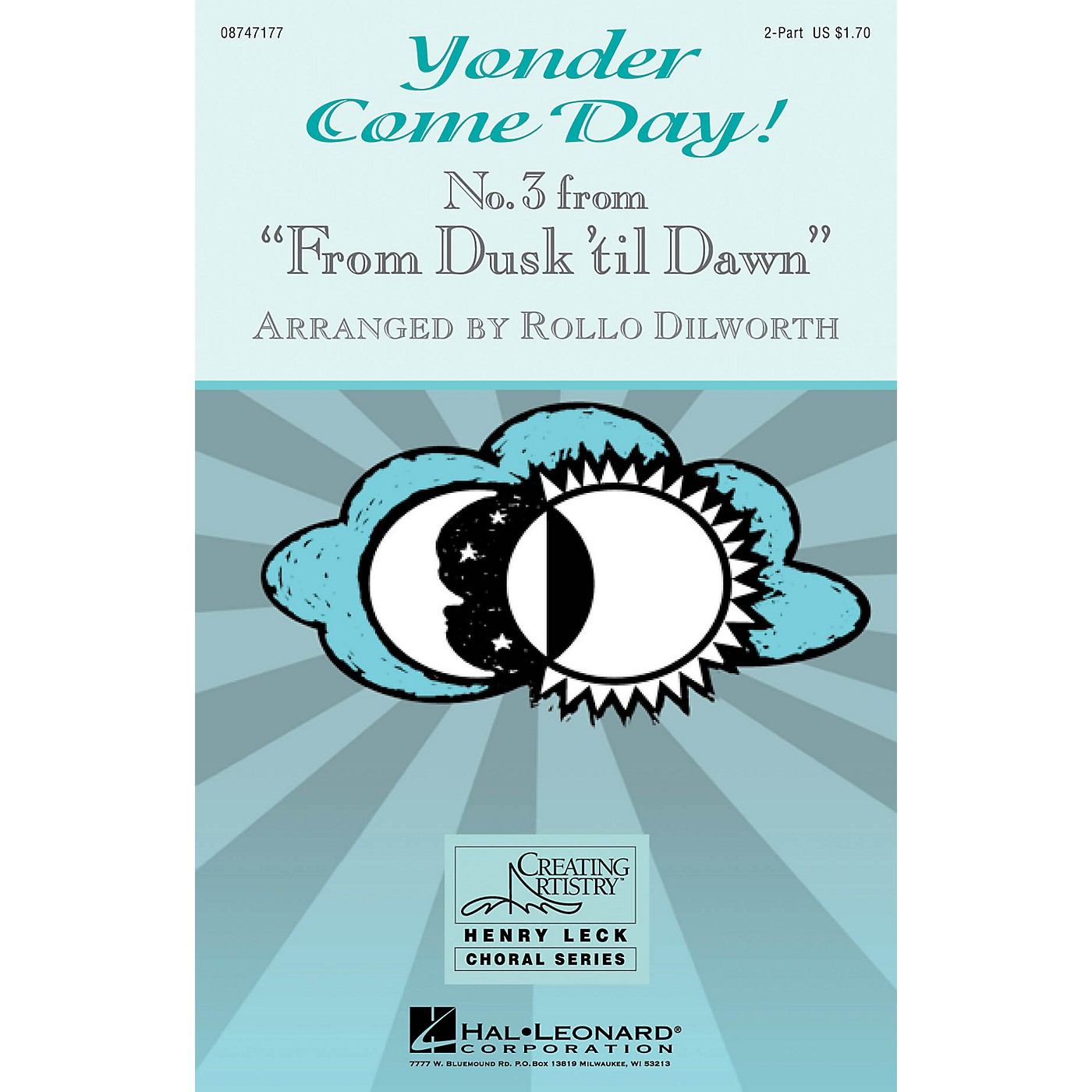 Hal Leonard Yonder Come Day! (No. 3 from From Dusk 'Til Dawn) 2-Part arranged by Rollo Dilworth thumbnail