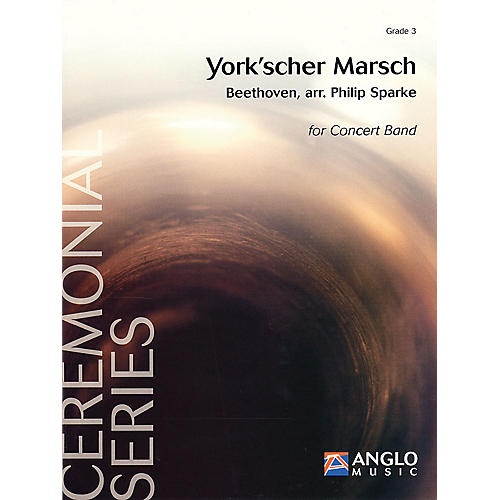De Haske Music York'scher Marsch (Score and Parts) Concert Band Level 3 Composed by Philip Sparke thumbnail