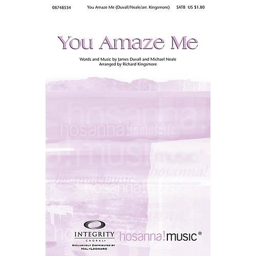 Integrity Music You Amaze Me Accompaniment CD Arranged by Richard Kingsmore thumbnail