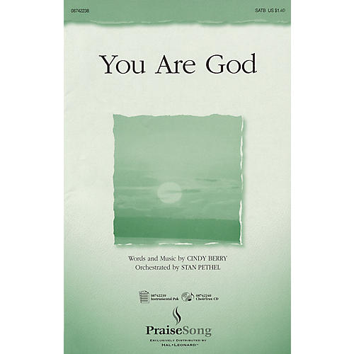 PraiseSong You Are God IPAKO Arranged by Stan Pethel thumbnail