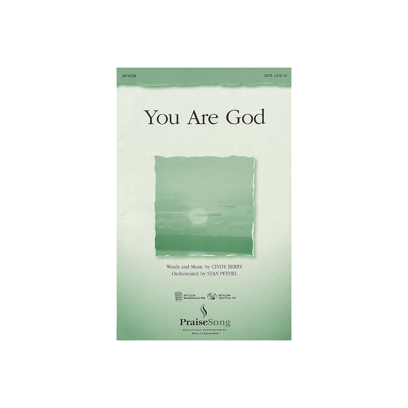 PraiseSong You Are God SATB composed by Cindy Berry thumbnail