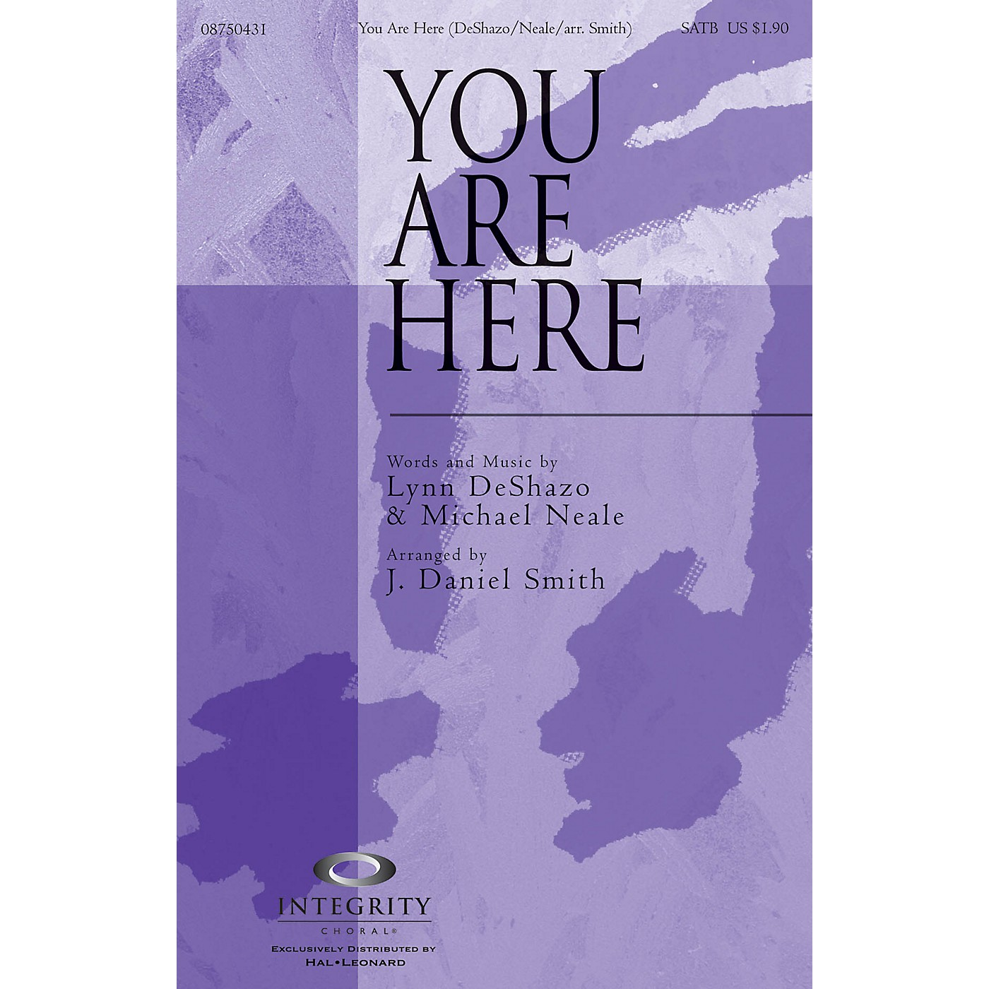 Integrity Choral You Are Here (incorporating Doxology) Accompaniment CD Arranged by J. Daniel Smith thumbnail