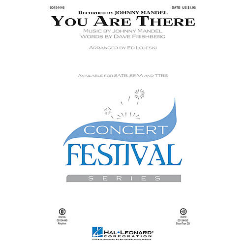 Hal Leonard You Are There SSAA Arranged by Ed Lojeski thumbnail