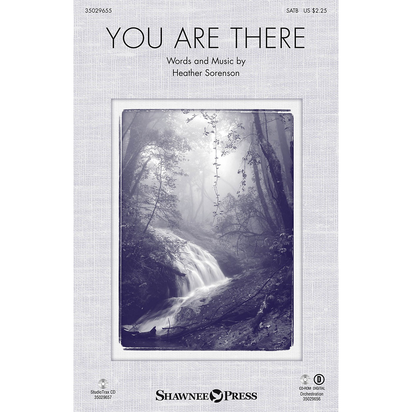 Shawnee Press You Are There Studiotrax CD Composed by Heather Sorenson thumbnail