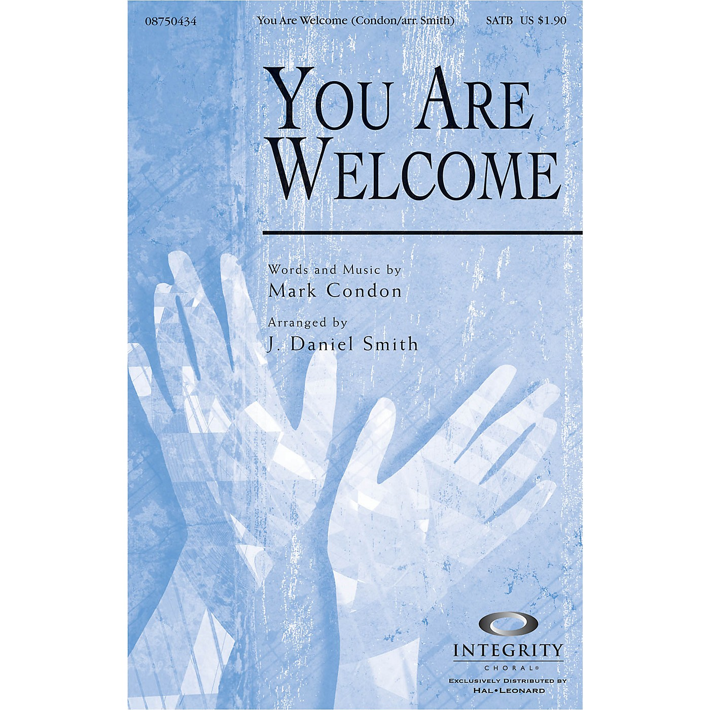 Integrity Choral You Are Welcome ORCHESTRA ACCOMPANIMENT Arranged by J. Daniel Smith thumbnail