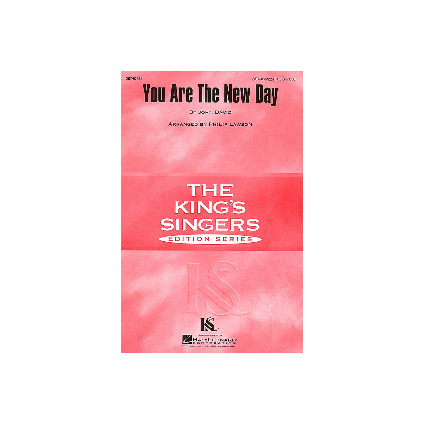 Hal Leonard You Are the New Day SSA A Cappella by The King's Singers arranged by Philip Lawson thumbnail