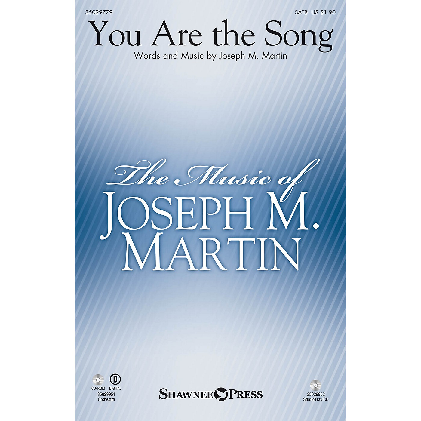 Shawnee Press You Are the Song Studiotrax CD Composed by Joseph M. Martin thumbnail