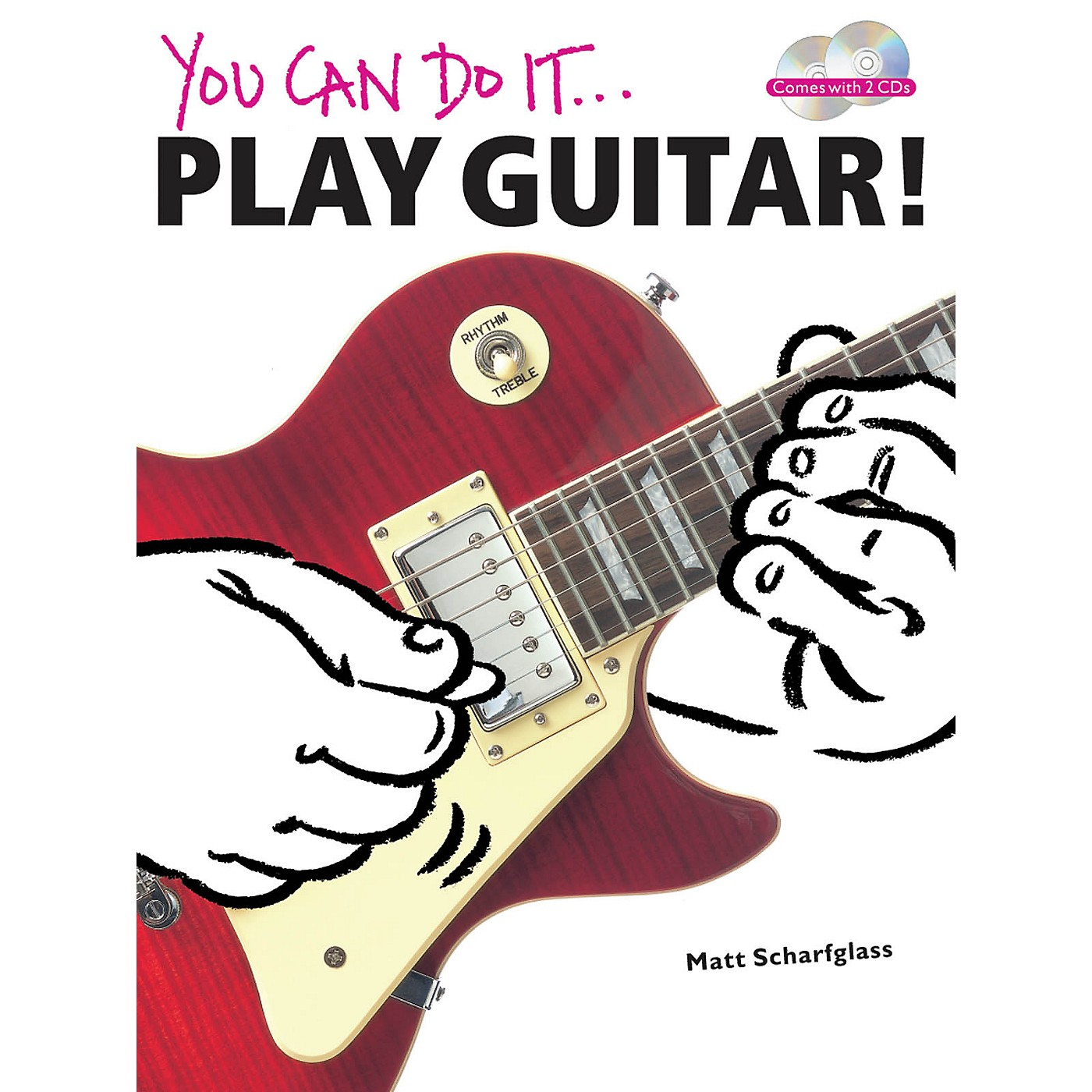Music Sales You Can Do It: Play Guitar! Music Sales America Series Softcover with CD Written by Matt Scharfglass thumbnail