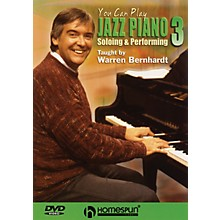 Homespun You Can Play Jazz Piano (DVD Three: Soloing and Performing) Homespun Tapes Series DVD by Warren Bernhardt