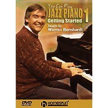 Homespun You Can Play Jazz Piano Homespun Tapes Series DVD Performed by Warren Bernhardt