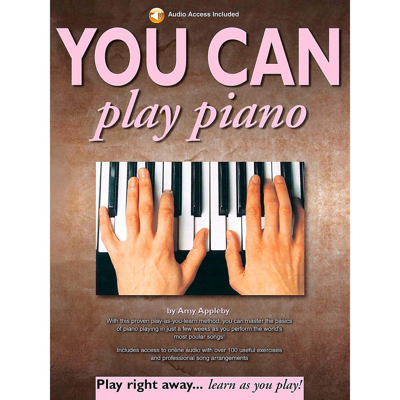 Music Sales You Can Play Piano! Music Sales America Series Softcover with CD by Amy Appleby thumbnail