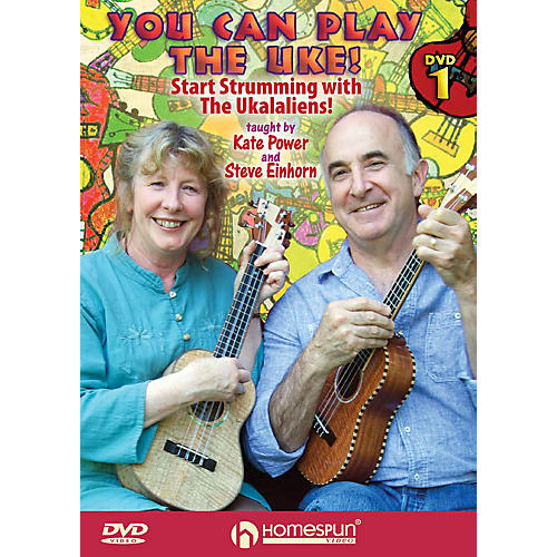 Homespun You Can Play the Uke! Homespun Tapes Series DVD Performed by Kate Power thumbnail