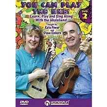 Homespun You Can Play the Uke! Homespun Tapes Series DVD Performed by Kate Power