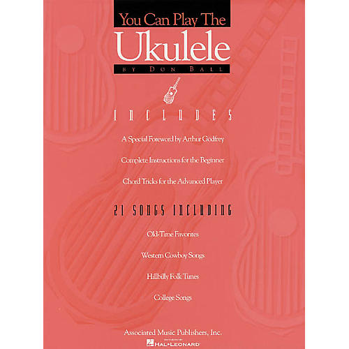 Associated You Can Play the Ukulele Book thumbnail