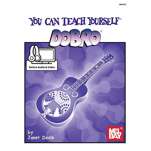 Mel Bay You Can Teach Yourself Dobro with Online Audio & Video-thumbnail