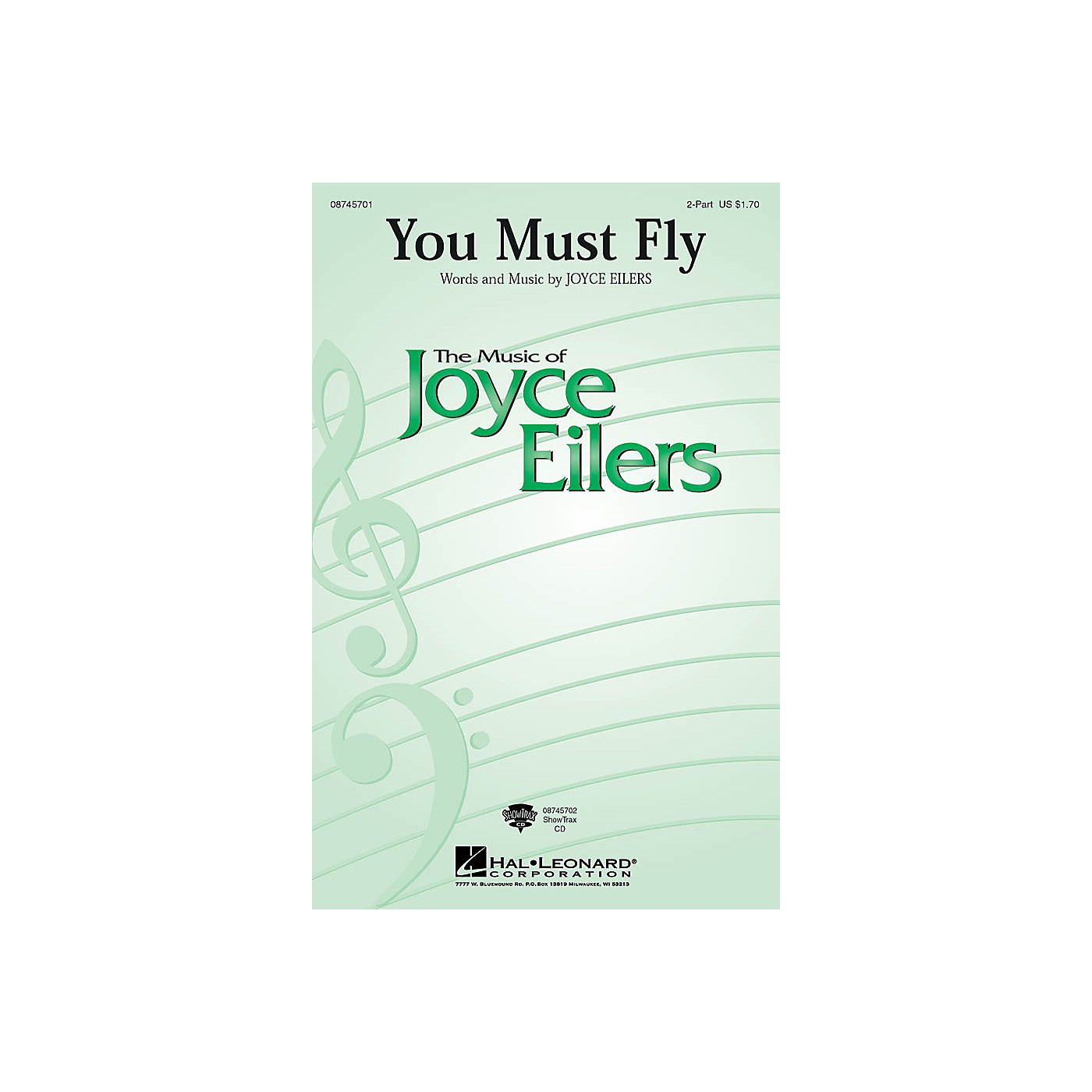 Hal Leonard You Must Fly ShowTrax CD Composed by Joyce Eilers thumbnail