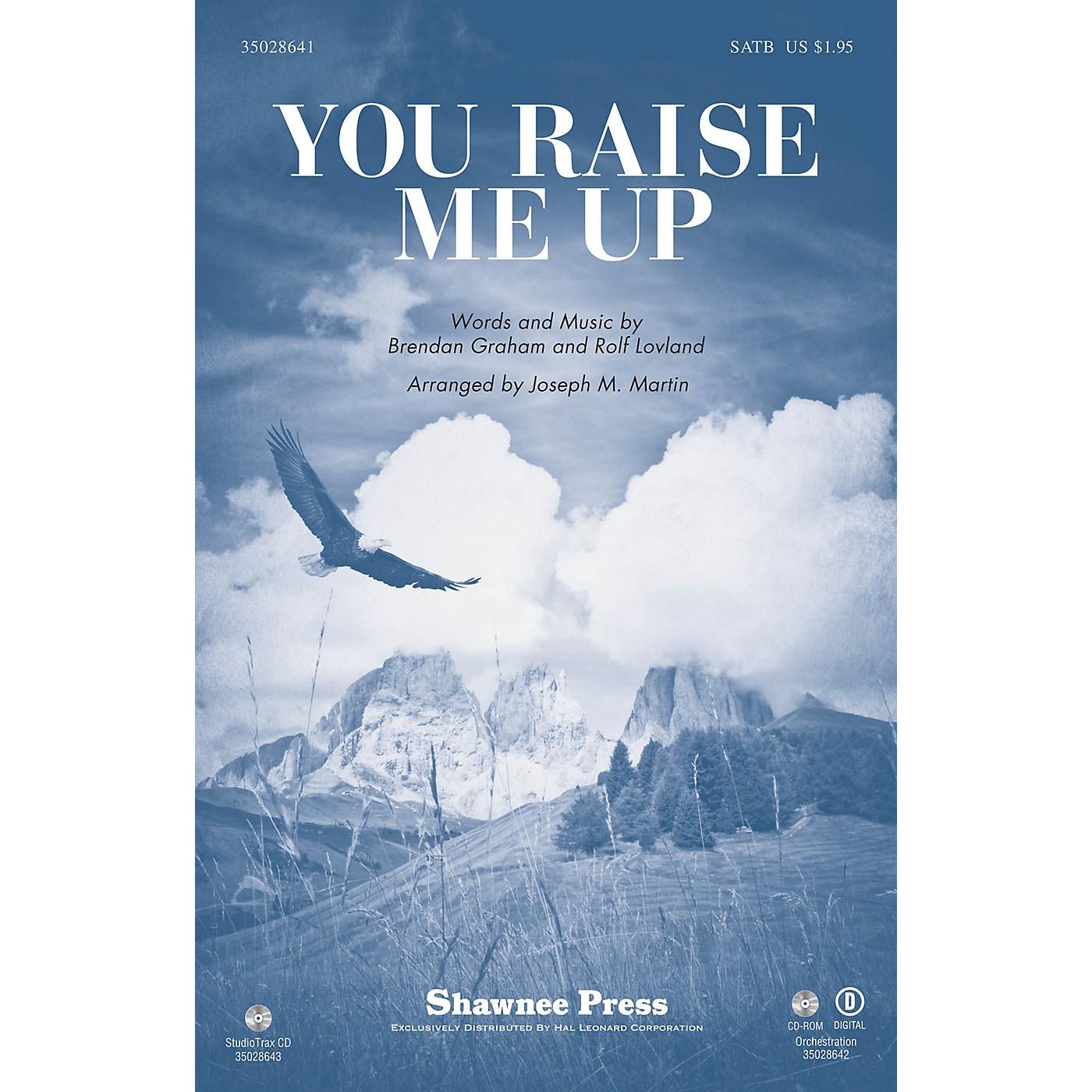 Shawnee Press You Raise Me Up Studiotrax CD Arranged by Joseph M. Martin thumbnail