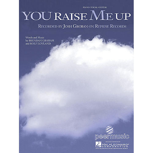 Hal Leonard You Raise Me Up by Josh Groban arranged for piano, vocal and guitar thumbnail