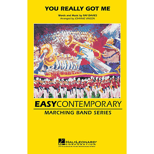 Hal Leonard You Really Got Me Marching Band Level 2-3 by The Kinks Arranged by Johnnie Vinson thumbnail