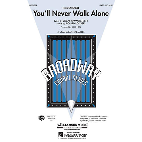Hal Leonard You'll Never Walk Alone (from Carousel) (Instrumental Pak (Combo)) Combo Parts Arranged by Mac Huff thumbnail