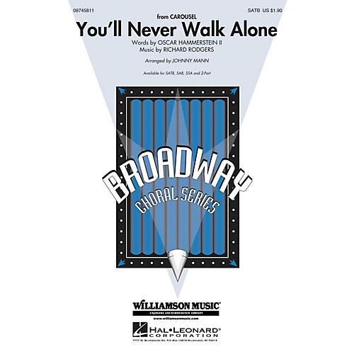 Hal Leonard You'll Never Walk Alone (from Carousel) SATB arranged by Johnny Mann thumbnail
