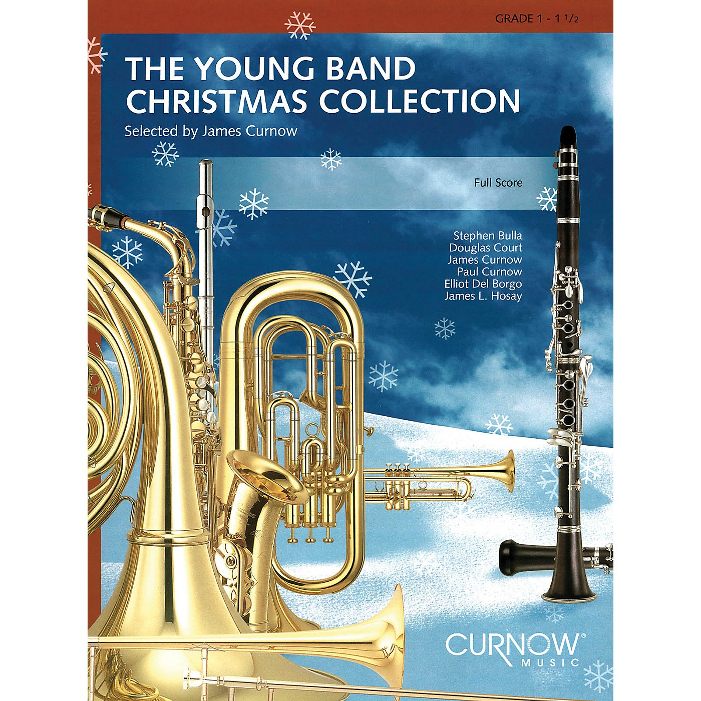 Curnow Music Young Band Christmas Collection (Grade 1.5) (Mallet Percussion) Concert Band thumbnail