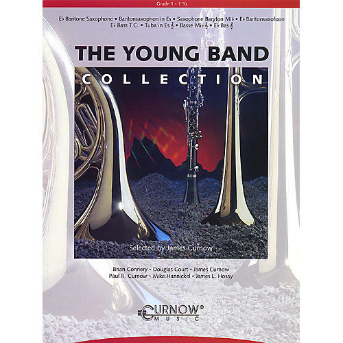 Curnow Music Young Band Collection (Grade 1.5) (Baritone Sax) Concert Band Level 1.5 thumbnail