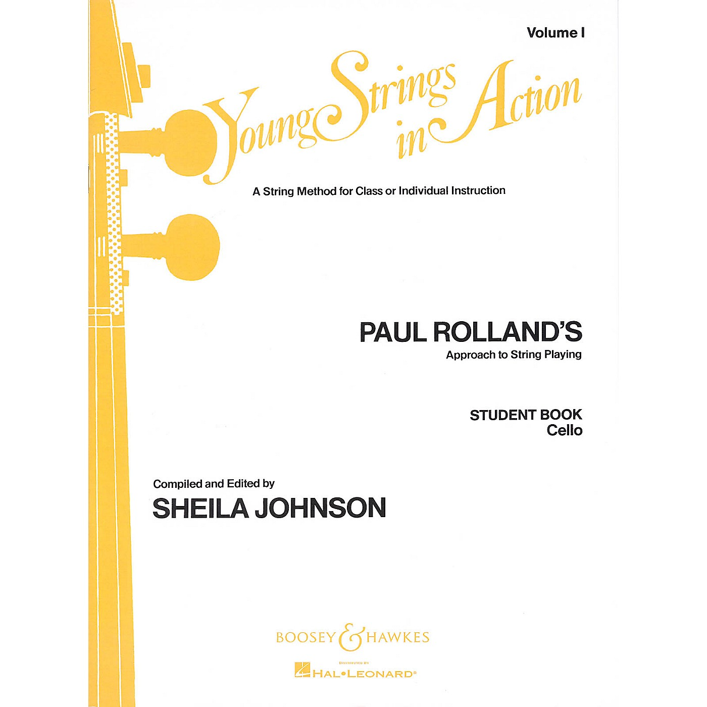 Boosey and Hawkes Young Strings in Action (Student Volume I) Boosey & Hawkes Chamber Music Series Composed by Paul Rolland thumbnail