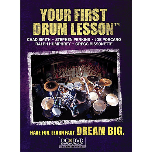 The Drum Channel Your First Drum Lesson DVD thumbnail